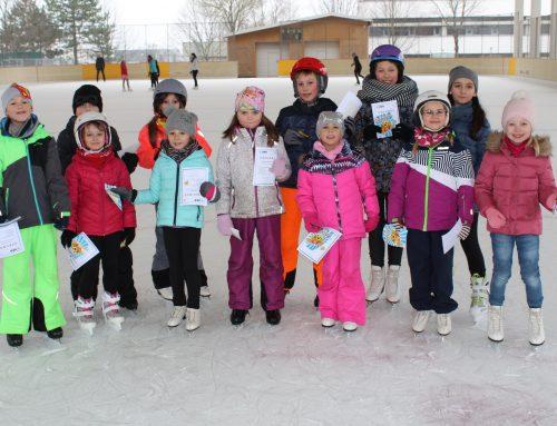 Erfolgreiche Saison bei unseren Eislaufkursen