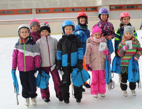 Erfolgreicher Eissternchen-Test für unsere Sportler