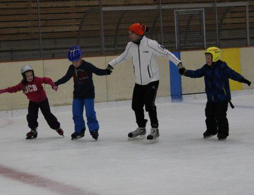 Fit-Kids, das Kursprogramm für Kinder ab 8 Jahren, die gerne Eis laufen