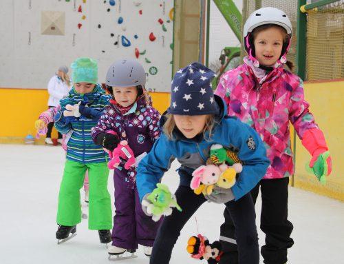 Ugotchi lernt Eislaufen – Eislaufkurse in den Weihnachtsferien