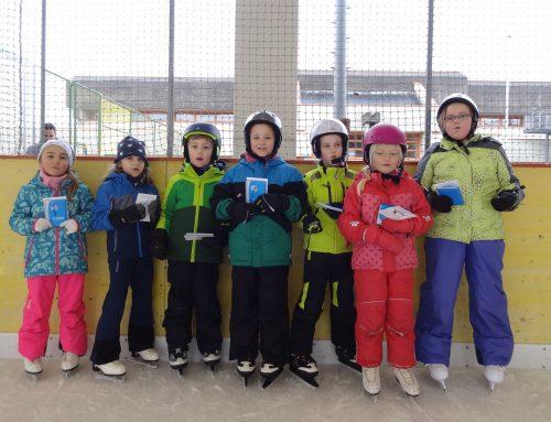 Unsere Kurskinder absolvierten erfolgreich den Eissternchen-Test