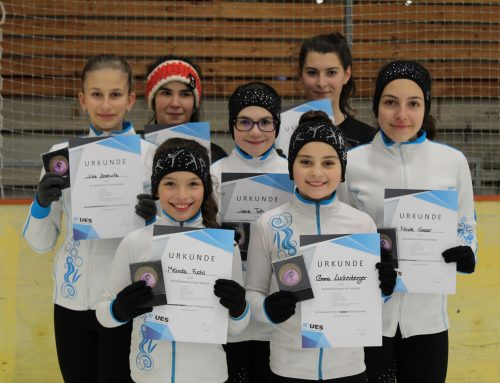 UES-Eiskunstlauf-Test fand zum ersten Mal statt