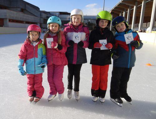 Unsere Kurskinder haben den Eissternchen-Test erfolgreich bestanden!